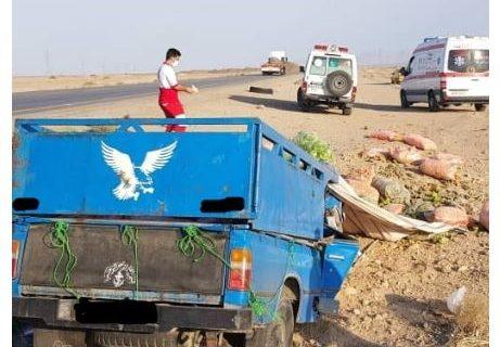 قربانی شدن راننده نیسان در محور نائین به اردکان