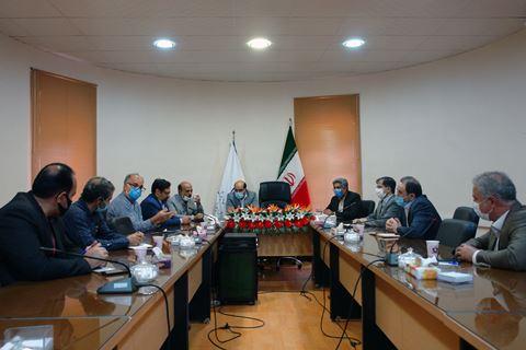 نشست هم اندیشی مدیر مخابرات منطقه یزد با مدیر کل آموزش و پرورش استان
