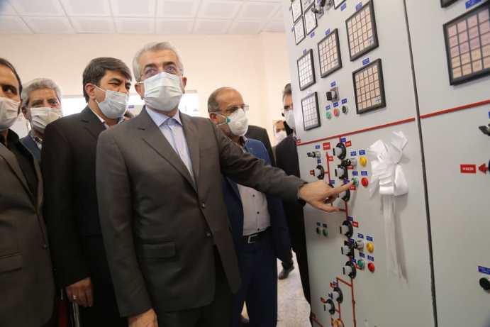 گزارش تصویری از سفر وزیر نیرو به یزد