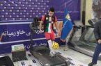 ۶ هزار و ۳۳۰ بار روپایی ورزشکار یزدی به یاد شهدا