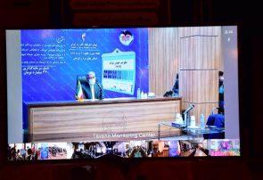 گزارش تصویری از افتتاح پروژه های صنعت برق استان به صورت ویدئو کنفرانسی