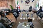 نشست سرپرست روابط عمومی شرکت آبفا با شهردار مهریز