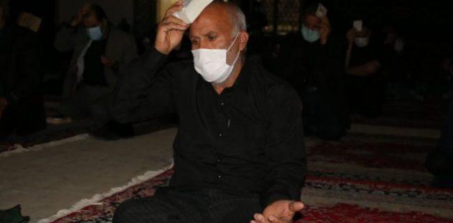 آیین احیاء دومین شب قدر در حسینیه سفید اشکذر