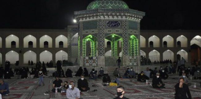 گزارش تصویری احیای شب ۱۹ ماه رمضان در حسینیه سفید اشکذر