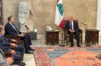 امیرعبداللهیان با رئیس جمهور لبنان دیدار و گفتگو کرد