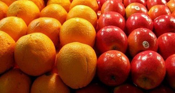۱۰۰۰ تن سیب و پرتقال برای شب عید در یزد ذخیره سازی می شود