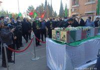 استقبال از شهید یاوری توسط مردمان دیار دارالعباده
