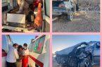 ۶ مصدوم در دو حادثه رانندگی در یزد